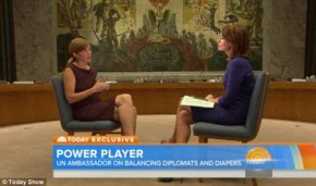 Samantha Power opens up about her constant struggle to balance 'diapers and diplomacy' with her two young kids and United Nations job