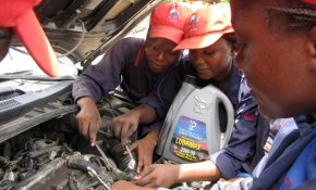 NPR: Lady Mechanic Initiative Training Women for 'The Best Job'