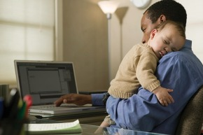 WSJ: More Family Time Can Give Dad's Career aLift
