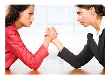 women-working-against-each-other