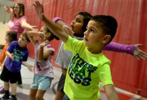 The Advocate: Workout Together Works- Study Finds that Children in Active Families StayHealthyLonger